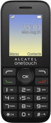 Мобильный телефон Alcatel One Touch 1016D Black-Volcano Black