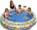"INTEX Бассейн надувной ""Fun Dots Pool"" 168х41см (от 3-х лет) (Китай) int56440"