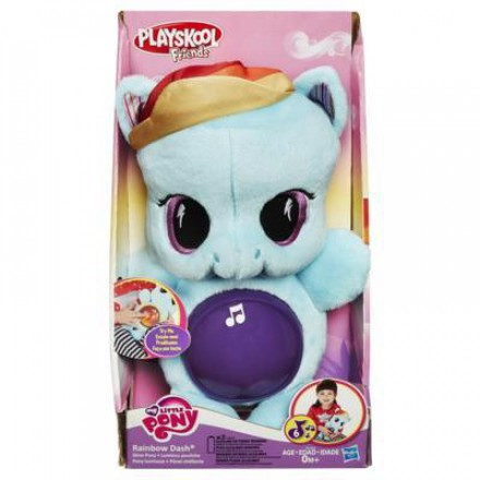 Hasbro (Хасбро) My Little Pony. Playskool friends Рейнбоу Дэш светится,0+ B1652Н-no